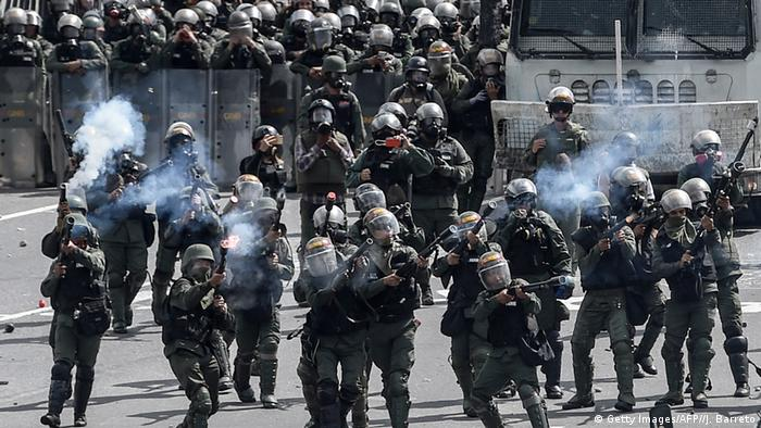 Venezuela Krise (Getty Images/AFP//J. Barreto)