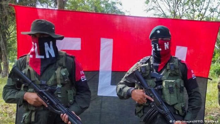 Kolumbien National Liberation Army (ELN) (Getty Images/AFP/D. Martinez)