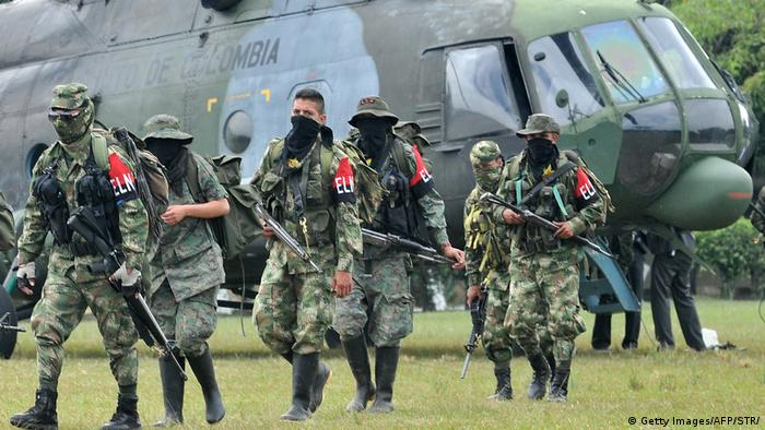Kolumbien National Liberation Army (ELN) (Getty Images/AFP/STR/)