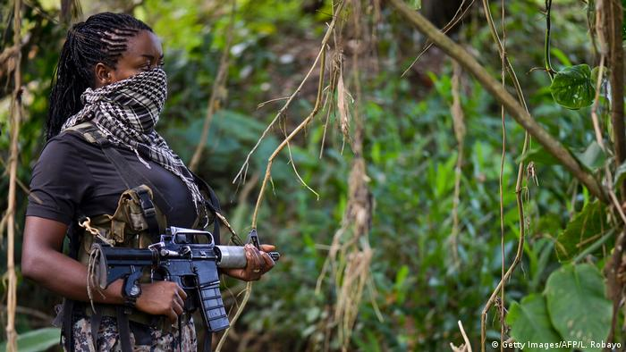 Kolumbien National Liberation Army (ELN) (Getty Images/AFP/L. Robayo)