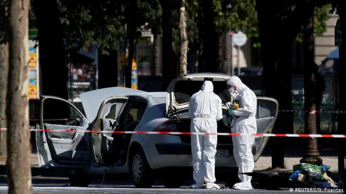 Paris saldırganı Türkiye'de sorguya çekilmiş