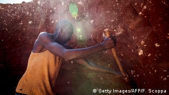Mina de cobalto en Lubumbashi (Congo)
