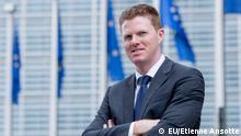 Christian Wigand, Sprecher der EU-Kommission im Bereich Beschäftigung und Soziales. Copy Right: Etienne Ansotte, © European Union , Brüssel