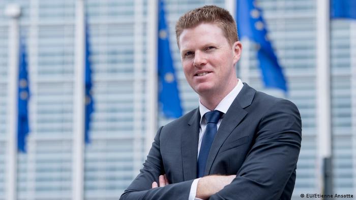 Christian Wigand, Sprecher der EU-Kommission
