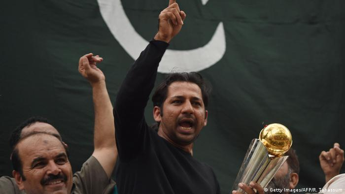 Pakistan Karachi Sarfraz Ahmad (Getty Images/AFP/R. Tabassum)