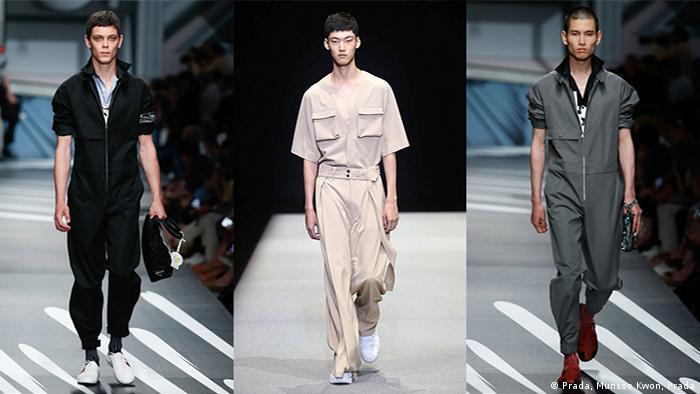 Menswear Spring/Summer 2018 (Prada, Munsoo Kwon, Prada)