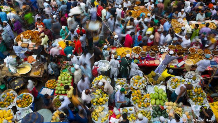 Bangladesch Iftar Mahlzeit Dhaka Markt