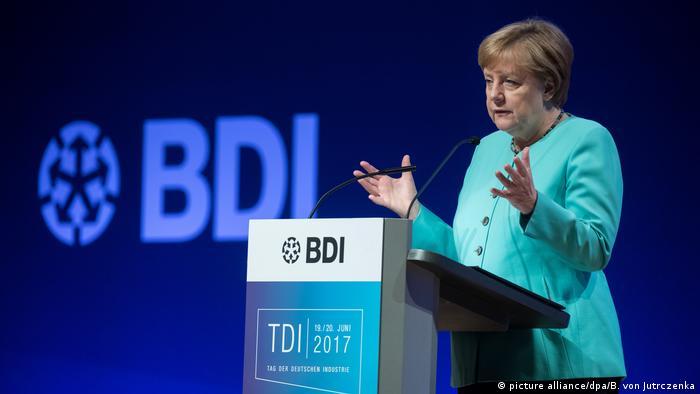 Tag der Deutschen Industrie 2017 Angela Merkel