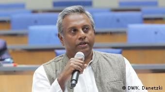 Salil Shetty (Secretary General, Amnesty International, India) (DW/K. Danetzki)