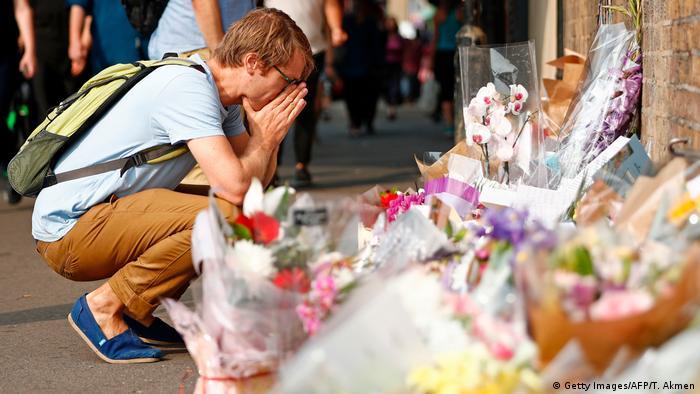 London Finsbury Park nach Anschlag auf Moschee-Besucher (Getty Images/AFP/T. Akmen)