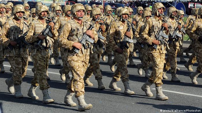 Katarski vojnici - ali ne nužno iz Katara