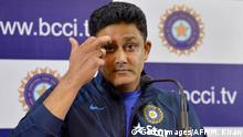 Indien Cricket Trainer Anil Kumble