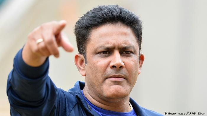 Indien Cricket Trainer Anil Kumble (Getty Images/AFP/M. Kiran)