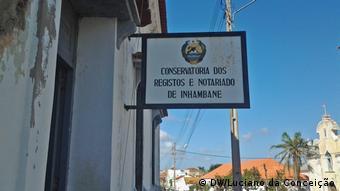Mosambik Inhambane Direktion für Aufzeichnungen und Notare in der Stadt Inhambane