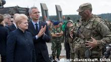 Nato-Manöver «Iron Wolf 2017»