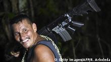 Kolumbien Abgabe von Waffen der FARC Rebellen
