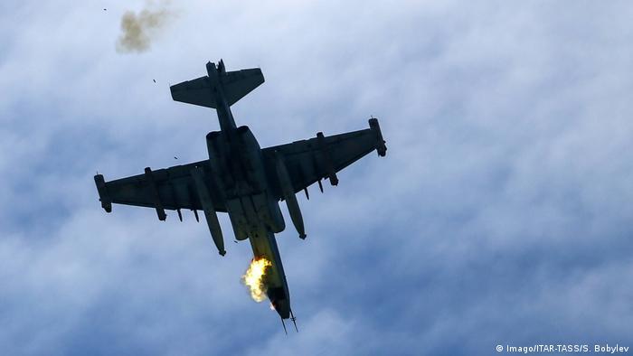 TEMSİLİ FOTO: Su-25 tipi savaş uçağı