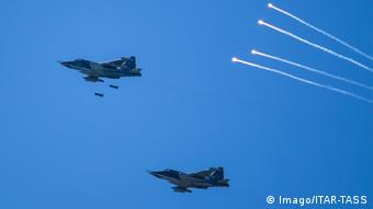 Russian Sukhoi Su 25 fighter jets (Imago/ITAR-TASS)