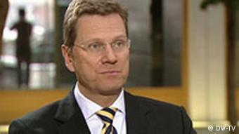 10.01.2009 DW-TV Journal Interview Guido Westerwelle
