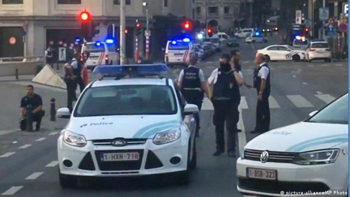 Belgien Terror-Alarm in Brüssel