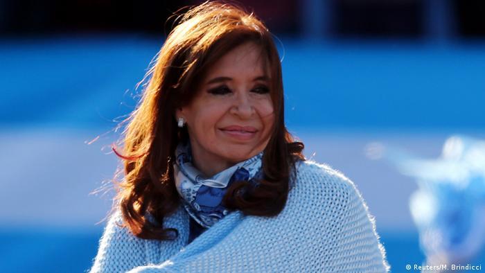 Argentinien Cristina Fernandez de Kirchner in Buenos Aires (Reuters/M. Brindicci)