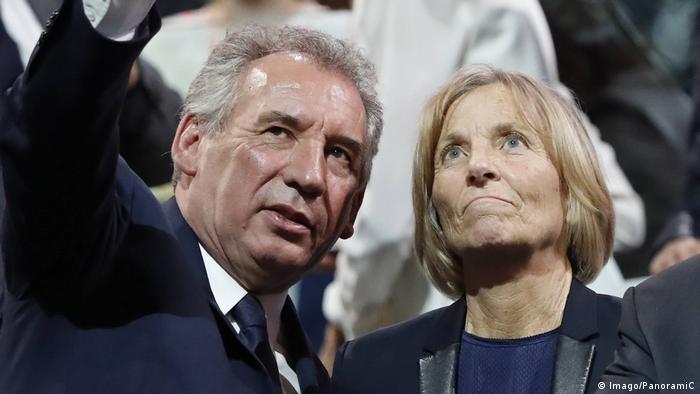 François Bayrou dhe Marielle de Sarnez