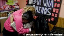 Argentinien Buenos Aires - Maira Maidana Gewalt gegen Frauen