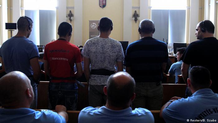 Macaristan'daki mülteci katliamı davası başladı