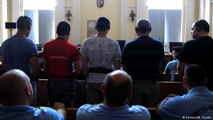 Ungarn Mordprozess Tote im Kühllaster