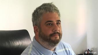 Mazedonien Petar Arsovski Kolumnist DW-Mazedonisch