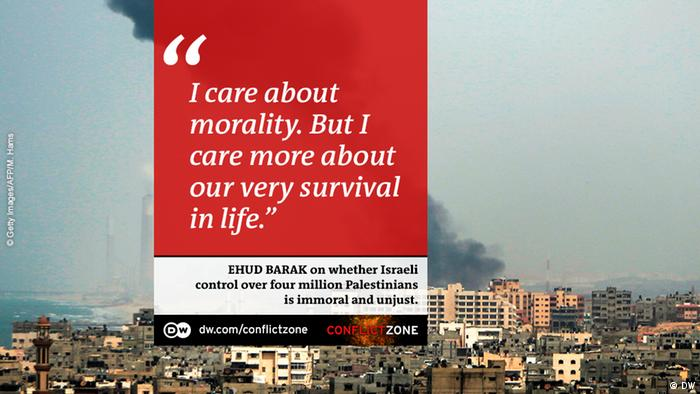 Ehud Barak on Conflict Zone