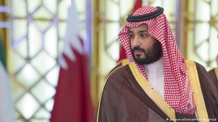Saudi Arabien - Kronprinz Mohammed bin Salman (picture-alliance/AA/B. Algaloud)