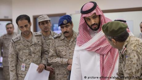 Saudi Arabien - Kronprinz Mohammed bin Salman (picture-alliance/abaca/Balkis Press)