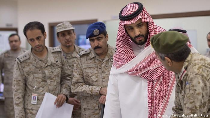 Resultado de imagen para Mohamed bin Salman (MBS y militares
