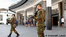 Belgien Sicherheitsmaßnahmen am Hauptbahnhof