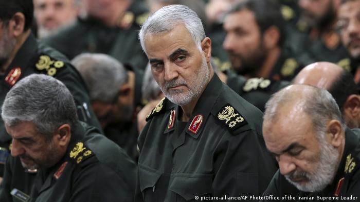 Líder supremo do Irão já prometeu vingar a morte do general Qassem Soleimani (na foto)
