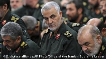 Iran Syrien - Qassem Soleiman (picture-alliance/AP Photo/Office of the Iranian Supreme Leader)