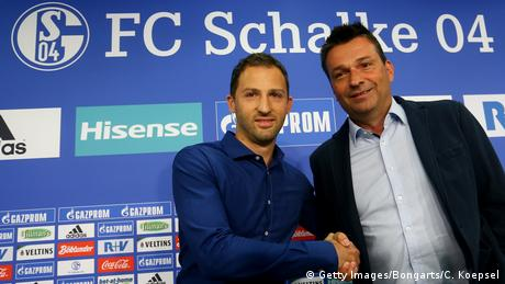 Gelsenkirchen Trainervorstellung Schalke 04 (Getty Images/Bongarts/C. Koepsel)