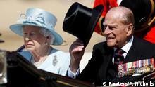Großbritannien London - Queen Elizebeth und Prinz Philip
