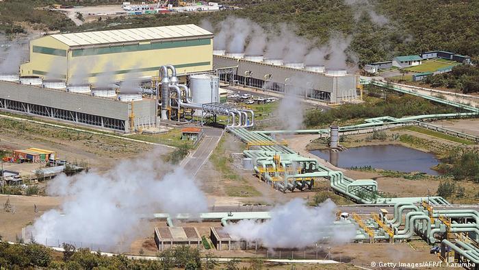 Kenia Olkaria IV Erdwärmekraftwerk