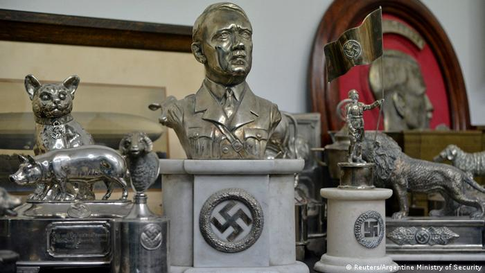 Argentinien Buenos Aires Hitler-Devotionalien (Reuters/Argentine Ministry of Security)