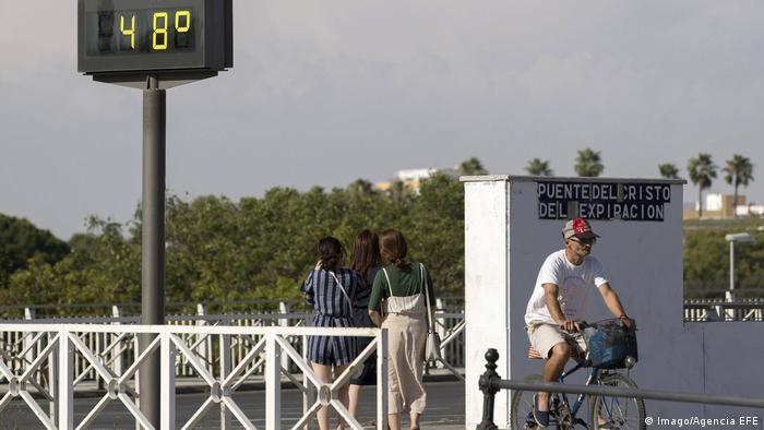 Sıcak havanın etkili olduğu ülkelerden biri İspanya