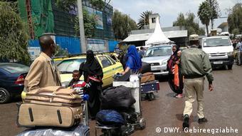 Äthiopien Addis Abeba Rückkehrer