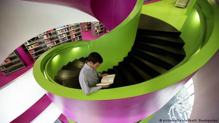 Библиотека Бранденбургского технического университета в Коттбусе