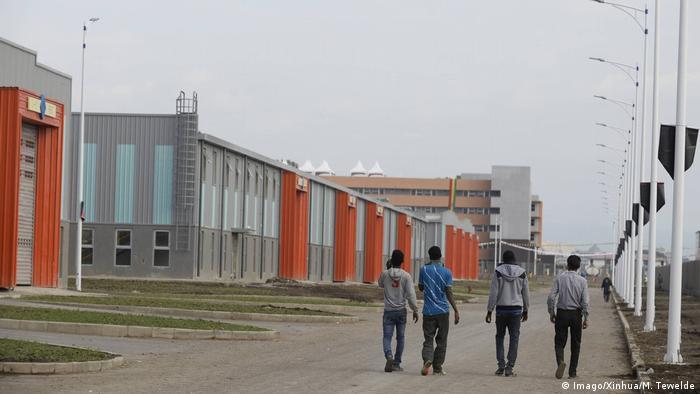 Äthiopien Industriepark Hawassa (Imago/Xinhua/M. Tewelde)