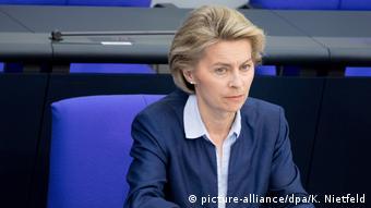 Ursula von der Leyen in the Bundestag