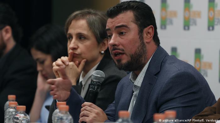 Mexiko Ausspähen von Journalisten via Smartphone und E-mails Mario Patron Sanchez, Carmen Aristegui