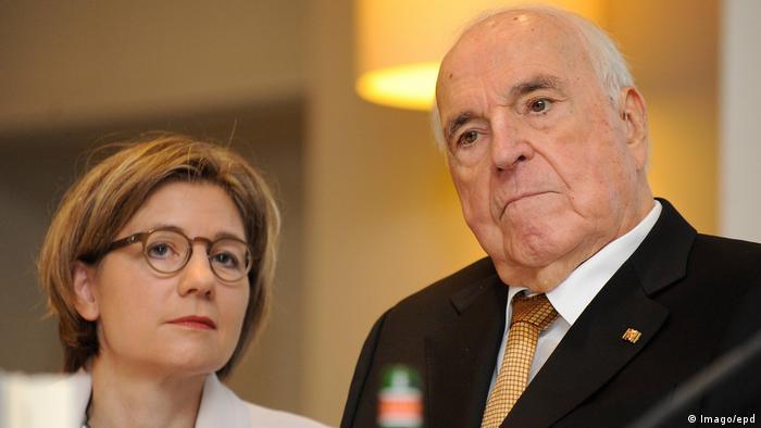 Maike Kohl-Richter, Helmut Kohl (Imago/epd)
