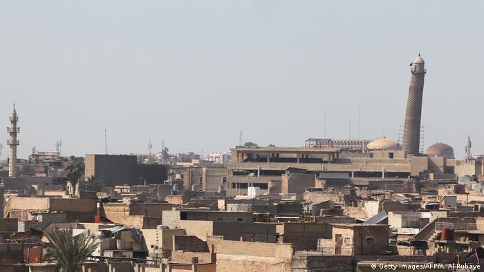 Irak Mossul al-Nuri Moschee (Getty Images/AFP/A. Al-Rubaye)