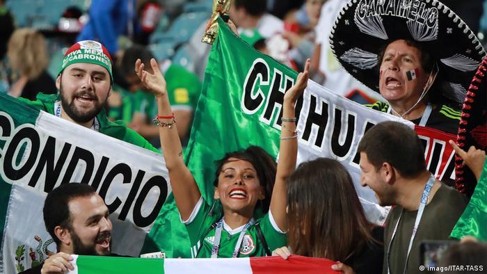 Fußball Confed Cup Mexiko - Neuseeland Fans (imago/ITAR-TASS)